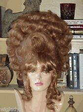 SIN CITY WIGS SUPER BIG UP DO LOTS OF CURLS COSTUME BEAUTIFUL BROWN! 1 OF A KIND