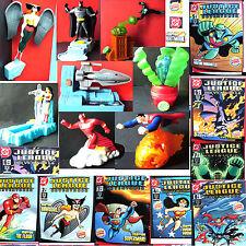 Burger King Justice League 8 toy set 2003 Super/Bat-man WonderWoman Hawkgirl New