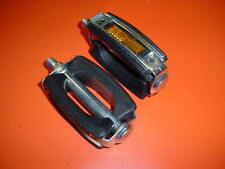 RALEIGH BICYCLE PEDALS UNION   1/2 INCH THREADS  NOS NEVER USED