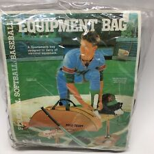 Vintage 1990 Kmart Baseball And Softball Equipment Bag * Nos*