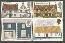 1970 Rural Architecture - Mint Never Hinged