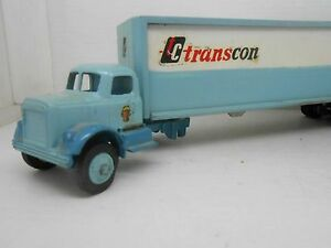 1440 The Winross Company Truck TC Transcon USA Model Lorry Metal
