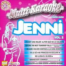 Jenni Rivera, Vol. 2: Exitos by Karaoke (CD, Mar-2010, Multimusic)