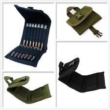 14 Rifle Shells Cartridges Belt Ammo Carrier Pouch Rifle Bullets Holder Bag