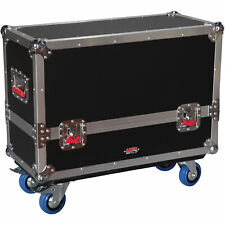 Gator Cases 2-in-1 Flight Case for QSC K8 Speakers G-TOUR 2X-K08