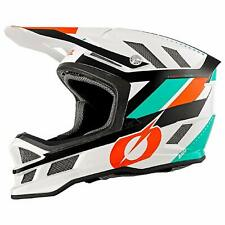 O'Neal Blade Fahrrad Downhill Full Face Helm Synapse weiss orange M (57-58cm)