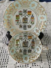 Paragon Commemorative Teacup-Coats of Arms of Canadian Provinces