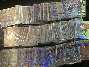 Pokemon 100 Card Lot ULTRA RARE EX/GX/HYPER RARE/FULL ART NEW AND 100% AUTHENTIC