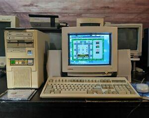 486 DX2 80 MHz VLB Computer Turbo Sound Blaster 16 Ready to Go DOS Retro Gaming!