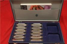 More details for 12 blues harp harmonicas