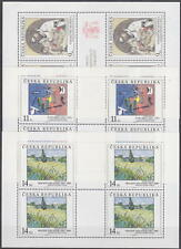 CZECH REPUBLIC - 1993-2000 COMPLETE COLLECTION ART SHEETS !! - **MNH** CHEAP !!