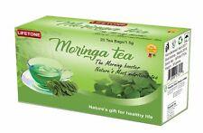 Ceilán Moringa Té,The Morning Elevado,Antioxidante,Desintoxicación,3 Cajas ,60