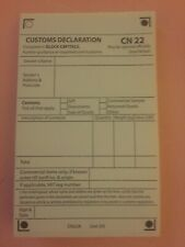 Self Adhesive Customs Declaration CN22 ~25/50/100/150/200/250 & S10 barcodes