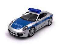Porsche 911 Polizei Modellauto Auto LIZENZPRODUKT 1:34-1:39