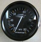 Teleflex Stratos Titanium Boat Gauge Speedometer 20 - 80 Mph 63268