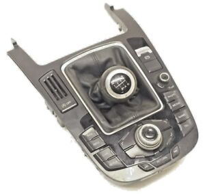 2008-2012 AUDI A5 COUPE MULTIMEDIA NAV MMI CONTROLS CONSOLE - 8T0 919 609 F