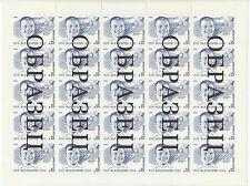 Specimen, Russia Sc5231 Yuri Gagarin, Space, Full Sheet