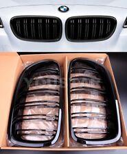 FAST EMS 2X M PERFORMANCE GLOSS BLACK KIDNEY GRILLES M5 BMW 5 Series F10 F11