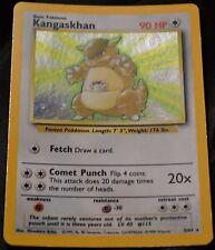 Holo Foil Kangaskhan # 5/64 Error Missing Symbol Misprint Jungle Set Pokemon NM