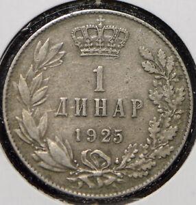 Yugoslavia 1925 Dinar 191514 combine