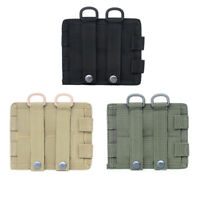 Nylon Compact Tactical Waist Bag Utility Molle Pouch Attachments Accessories