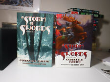 SIGNED A Storm of Swords Bk. 3 by George R. R. Martin (2003, Hardcover, Limited)