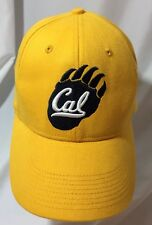 Nike CAL Fitted Swoosh Flex OSFA Yellow Hat Retro Ball Cap California Bears