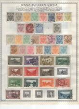 Bosnia And Herzegovina On Minkus Album Pages 1879-1919