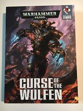 Warhammer 40k Space Wolves Curse of the Wulfen Book Set Hard Cover