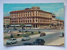 VIAREGGIO Hotel Principe di Piemonte FIAT 600 Lucca vecchia cartolina
