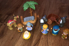 Fisher Price Little People CHRISTMAS STORY NATIVITY Replacement Figures Lot