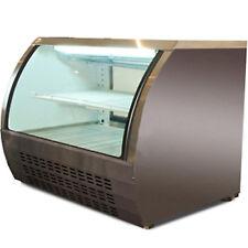 """48"""" Deli Case Glass Show Case Refrigerator Cooler Bakery display Cooler Depot"""