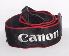 Canon EOS Camera Neck Shoulder Strap Black Red  B10618-25