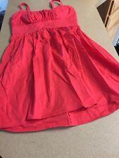 *B.Smart Sun Dress*Womens Size 8* Adjustable Straps* Melon Color*