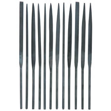 Precision Needle File Set 10pc Jewelers Metal Glass Hobby Tool FREE SHIPPING!