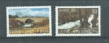 CYPRUS STAMPS COMPLETE SET EUROPA 2001 MNH