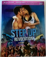 STEP UP REVOLUTION 3D/2D BLU RAY + SLIPCOVER SLEEVE FREE SHIPPING WORLD WIDE
