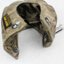 T3 TITANIUM TURBO BLANKET HEAT SHEIELD COVER TURBO CHARGER WRAP UNIVERSAL