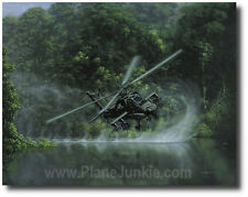 Deliverance by Dru Blair - AH-64 Apache Attack Helicopter - Aviation Art Prints
