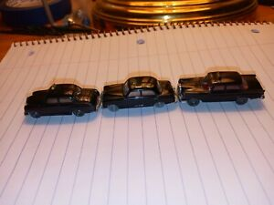 Wiking 1/87 (3) MB 180/220S/220 Vintage Taxis