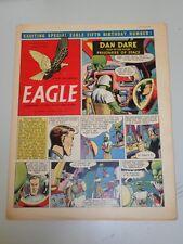 EAGLE #15 VOL 6 APRIL 15 1955 BRITISH WEEKLY DAN DARE SPACE ADVENTURES*