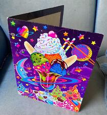 vintage lisa frank folder galactic sundae 1990s