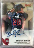 2015 Bowman's Best Bradley Zimmer Autograph. Mint Condition!!!