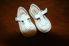 Stride Rite White Mary Janes (Beatrix)  Leather 9W Shoes