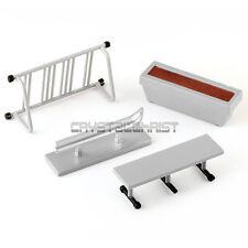 Set of 4Pcs Skate Park Ramp Parts Fingerboard Finger Skateboard Scooter Toy Gift