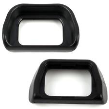 2x Okularmuschel Sucher Für sony NEX-7 NEX-6 Alpha A6000 A6300 ILCE-6000
