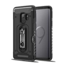 "Samsung Galaxy S9 ""The Mechanic"" Hybrid Case W/ Card Slot (BLACK)"