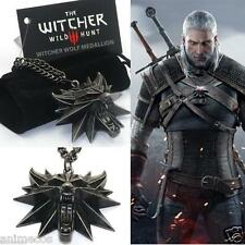 The Witcher 3 Wild Hunt Medaillon Medallion Kette Anhänger Necklace Pendant
