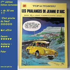 Tif et Tondu, 37, Les phalanges de jeanne d'arc Will Desberg Dupuis EO 1988 EN C