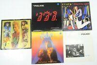 5 THE POLICE Sting LP LOT Zenyatta King Pain Synchronicity Ghost Machine Bring